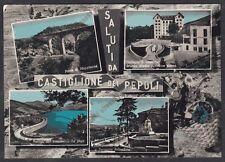 BOLOGNA CASTIGLIONE DEI PEPOLI 08 SALUTI da... VEDUTINE Cartolina VIAGGIATA 1961