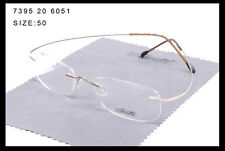 7395 Silhouette Ultra-Light Titanium  Eyeglasses Frame Rimless Glasses Frame