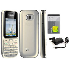 Nokia C2-01 (Unlocked) Mobile Phone 3G Camera FM MP4 Cheap bar phones Grade A+