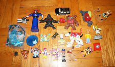 x23 ACTION FIGURE LOT Boys Toys Disney Mattel Barbie Scooby Doo Toy Story Shrek