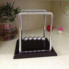 New Newtons Cradle Steel Balance Balls Physics Science Pendulum Desk Accessory