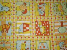 Vintage Retro ANIMAL/ DUCK, BIRD, CAT, DOG, SNAIL Fabric (50cm x 50cm)