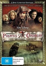 Pirates Of The Caribbean - At World's End (2 DVD Set), NEW+SEALED, R 4...3915
