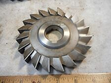 """ECLIPSE 5"""" x 5/8"""" x 1 1/4"""" STRAIGHT TOOTH Side Milling Cutter USED in EX CON"""