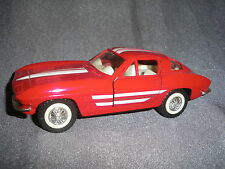 484B Majorette Legends 1:32 GM Chevrolet Corvette C2 Sting Ray 63 Chevy 1/32