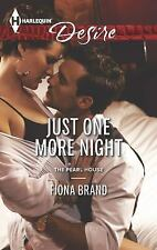 Just One More Night (Harlequin DesireThe Pearl House)
