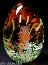 Caithness Scotland Dancing Seahorses Paperweight - GORGEOUS