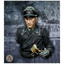 Scale 75 German WSS Totenkopf 1942 1/10th scale unpainted resin bust Kit