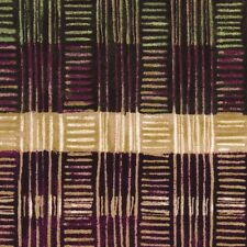 Fabric Basket Weave Earth Tones on Cotton 1 Yard S