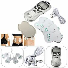Slim Electric Full Body Massager Pulse Muscle Relax Massage Pain Relief + 4 Pads