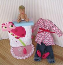 2006 Dr Cloth Nursery I Can Be a Doctor CHICKEN POX Baby Krissy & Lady Bug Table