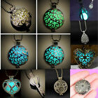 Distinctive Love Heart Magic Fairy Locket Glow In The Dark Necklace Jewelry Gift