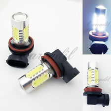 H11 CREE Q5 LED 6000K 6K White Projector Plasma Head #d19 2x Bulb For Low Beam