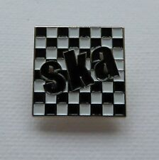 Metal Enamel Pin Badge Brooch SKA Square Music Dance Jazz Rythm Blues Reggae