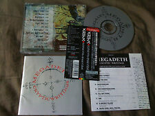MEGADETH / CRYPTIC WRITINGS / JAPAN LTD CD OBI bonus track