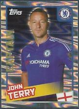 TOPPS 2016 PREMIER LEAGUE #081-CHELSEA-CAPTAIN-JOHN TERRY-FOIL