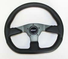 "Artic Cat Prowler Grant Black Steering Wheel 13 3/4 x 11 3/4"" black spokes"