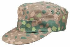 WW2 GERMAN ELITE DOT44 CAMO FIELD CAP HAT SIZE XL-3333