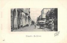 CPA ALGERIE PHILIPPEVILLE RUE NATIONALE