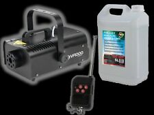 American DJ VF1000 Smoke Machine 1000W inc Wireless Remote DJ Disco + 5L Fluid