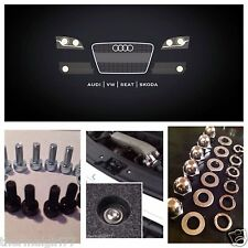 Fits Audi TT Engine Bay Cover Bolts Fastener - 58 Piece SS Conversion Kit