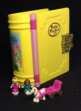 Polly Pocket Mini ��  1995 - sparkling palace princess glitter Buch Dose (8)