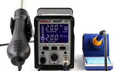 995D+ PLUSS verion. SMD Rework Station, Hot Air, Soldering iron  HAKKO heater
