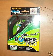 POWERPRO fishing braid - 150yd 18lb GREEN  POWER PRO