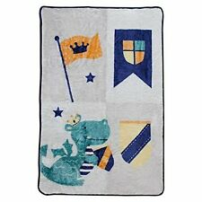 Blanket Sparky Dragon Baby Infant Toddler Snuggly Soft Bedding Cozy Warm Fleece