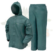 Frogg Toggs DriDucks Ultra Lite 2 II Rain Gear Suit Wear DriDuck Frog Green 2XL