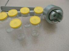 New 20mm Manual Vial Crimper Flip Off Caps Hand Sealing aluminum-plastic cover!