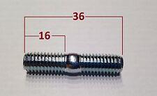 6 Stück Stehbolzen (M8x35) ist M8x36 für Kart Radstern bzw. Felge 8.8 verzinkt
