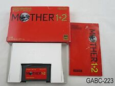 Complete Mother 1+2 Game Boy Advance Japanese Import Japan GBA US Seller C/Fair