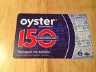 LIMITED EDITION OYSTER CARD 150 YEARS.
