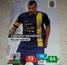 CARD ADRENALYN 2013/14 CALCIATORI PANINI VERONA CACCIATORE CALCIO FOOTBALL