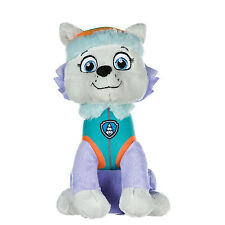 "NEW OFFICIAL 12"" PAW PATROL SITTING EVEREST PUP PLUSH SOFT TOY NICKELODEON DOGS"