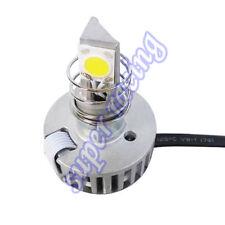 6V-36V 2000LM 18W Motorcycle Headlight Lamp Bulb H4 PH7 PH11 Adaptor Led Light