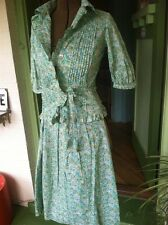 VTG 1970 Couture LIBERTY of LONDON Tana Lawn 3pc Dress~MAGNIFICENT! RARE!