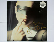"Madonna - Erotica - UK 12"" Single 45 RPM - Limited Edition with Poster"