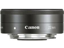 =NEW= Canon EF-M22mm F2 STM (EF-M222STM)/ for Eos M Camera Lens