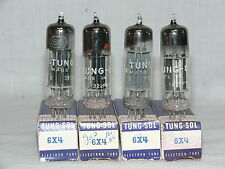 4 NIB TUNG SOL 6X4 TUBES - USA - NICE QUAD