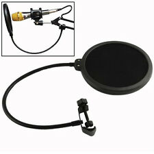 Popular Studio Microphone Mic Wind Screen Pop Filter Mask Shied for Speaking