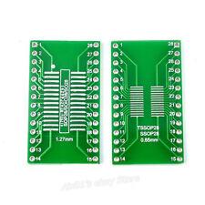 5pcs SSOP/TSSOP/SOIC28/20 To DIP 28 SOP TO DIP 28 DIP20 Adapter PCB Converter