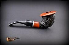"HAND MADE WOODEN TOBACCO SMOKING PIPE  no 66  ""Calabash""  Rustic Orange    Pear"