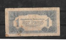 HUNGARY #M2B 1944 GOOD CIRC PENGO OCCUPATION OLD BANKNOTE PAPER MONEY BILL NOTE