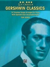 Gershwin Classics Sheet Music 14 Timeless Songs Arranged for Piano wit 000322126