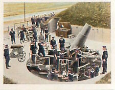 Battery Gun Submarine North Sea War Deutsches Heer WWI WELTKRIEG 14/18 CHROMO