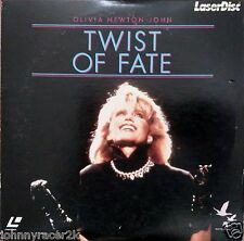 "OLIVIA NEWTON -JOHN 8"" Laserdisc Twist of Fate LD ""Living in Desparate Times"""