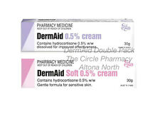 Genuine Dermaid Cream and Soft Double Family Pack Hydrocortisone 0.5% w/w Gentle