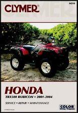 CLYMER SERVICE REPAIR MANUAL HONDA 2004 TRX500FGA FOREMAN RUBICON 500 4X4 04 4WD